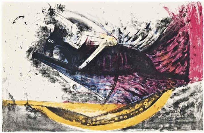 apocalypse de saint jean portfolio of 15 by rufino tamayo