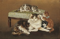 kittens by bessie bamber