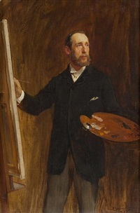 self portrait by john seymour lucas