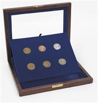 coins (set of 6) by meyer vaisman