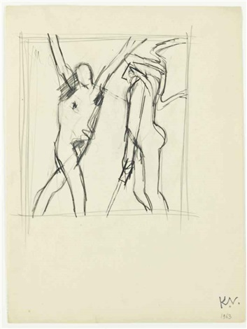 two figures by keith vaughan