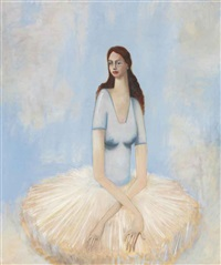 the ballerina by george condo