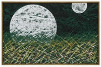 untitled, two moons by yuichi hasegawa