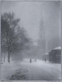 stormy weather, boston by alice igersheimer