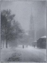 stormy weather, boston by alice igersheimer