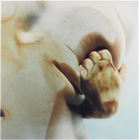 closed contact #5 by jenny saville
