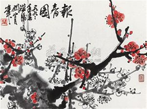 报春图 report on spring by guan shanyue