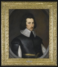 portrait of sir richard weston (1591-1652) by cornelius de neve