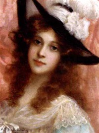 portrait of a young lady by antonio torres