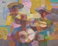 three musicians by romeo v. tabuena