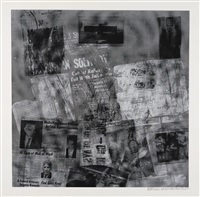 surface series from currents: six plates (6 works) by robert rauschenberg