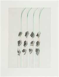 untitled (12 bits) by tomma abts
