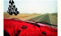 tableaux de bord rouge, désert du sinaï, egypte by scarlett coten