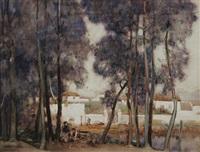 algerias, spain by sir alfred east
