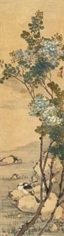 花鸟 by ren xiong