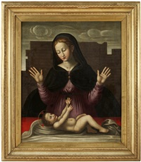 madonnan med barnet by lazzaro di jacopo bastiani