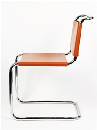 spoleto chairs (6 works) by attilio bersanelli