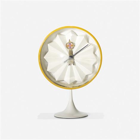 Table Clock, Model 2264 By George Nelson U0026 Associates