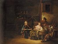ländliches familienglück by johann eleazar schenau
