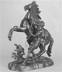 joven domando un caballo by coustou (-unattributable)