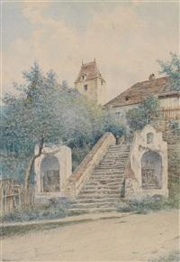 motiv aus röschitz (waldviertel) by wilhelm ambros