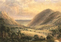 victorian landscape by alexander james webb