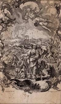 schrecken des krieges (2 works) by gottfried bernhard goetz