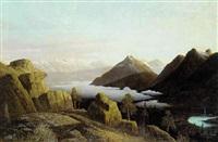 sneklæadte bjerge, antagelig fra nord amerika by r. nelson