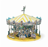 tennessee fox trot carousel by red grooms