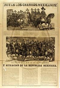 vivan los charros mexicanos by josé guadalupe posada