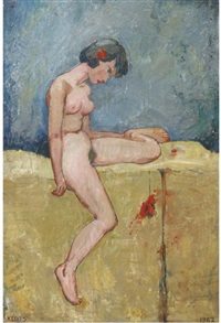 female nude by cornelis kloos
