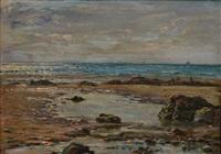 marée basse à wimereux by jules masuré