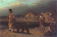 anatolian bear keeper by imre laszlo udvardy
