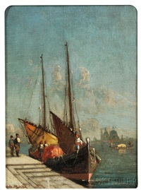 a venetian fisherman by walter franklin lansil