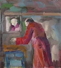 mann vor einem spiegel by jürgen leippert