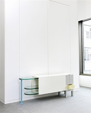 stazione sideboard from the bauhaus collection by andrea. Black Bedroom Furniture Sets. Home Design Ideas