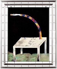 regenbogen-säge by helmut margreiter