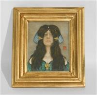 portrait de jeune de femme by nico jungmann