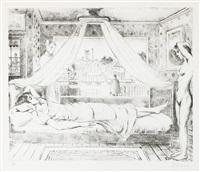 la chambre (1979) by paul delvaux