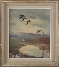 flying geese by peter scott