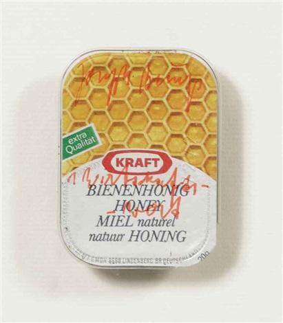 wirtschaftswert kraft bienenhonig hygienic bag postkarte 5dm 7000 eichen hirschkuh 5 works by joseph beuys
