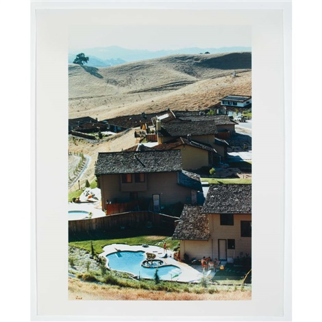 backyard with pool by bill owens