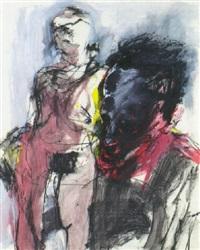 untitled (artist and model) by steffen fischer