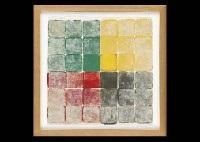 ne green yellow gray and red by hisahi momose