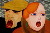 straatzangers by johan van hell