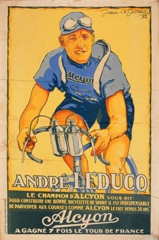 andré leduc pour les cycles alcyon by jean a josse