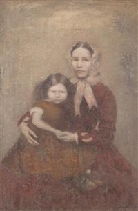 mere et enfant by boris zaborov