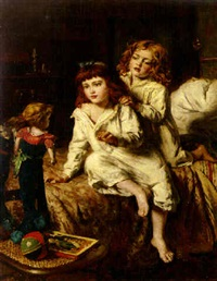christmas morning by william hippon gadsby
