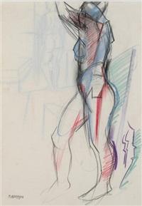 figure study by barbara warren