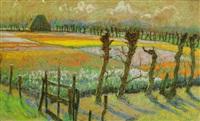 tulpenfelder by frans nackaerts